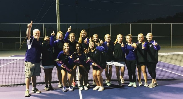 Girls' Tennis Claims First Region Championship in School HIstory