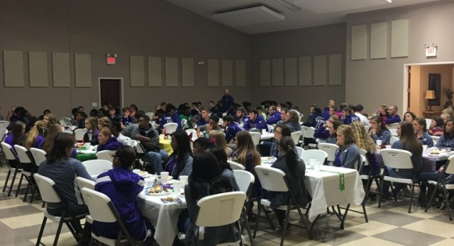 Thanks to St. Paul United Methodist Church for Feeding Fall Athletes