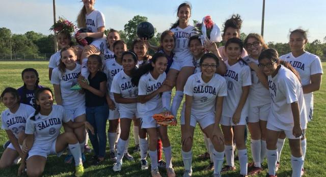 Girls' Soccer Finishes Perfect; Captures 1st Region Championship