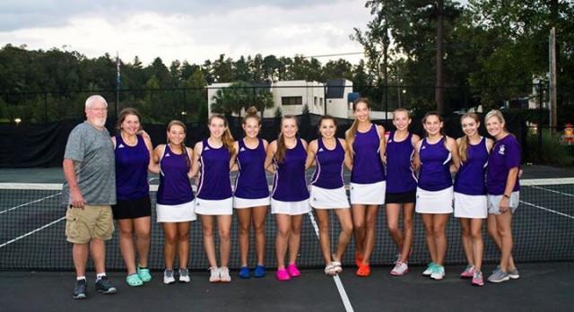 Girls' Tennis – REGION CHAMPIONS