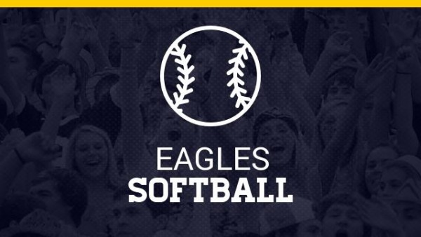 Eagles Softball Logo