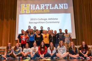 College Athlete Recongnition Ceremony