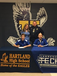 Justin Light signs letter of Intent to Lawrence Tech