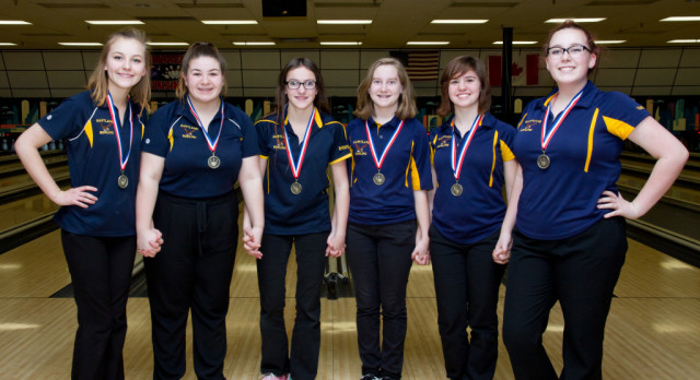 Hartland JV Girls Third in JV State Bowling Team Championships
