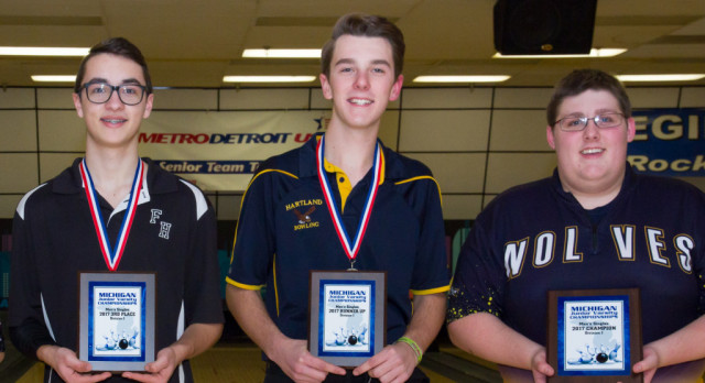 Mark Martin is State JV Bowling Championship Runner Up