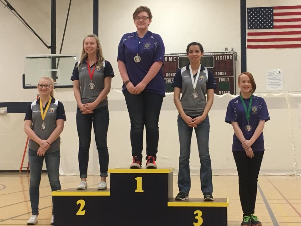 HS Female winners