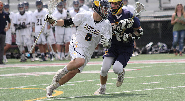 Sudden death: Hartland's perfect lacrosse season ends with overtime loss in semifinals