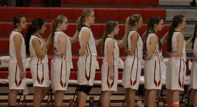 Padua Franciscan High School Girls Varsity Basketball beat Brecksville-Broad. Hts. 63-39