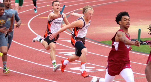 Boys 4×100 Relay Advances to State Final on Saturday