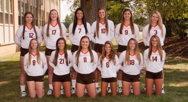 Padua Franciscan High School Girls Varsity Volleyball beat Notre Dame Academy 3-0