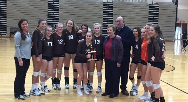 JV Volleyball places 3rd at Brecksville Tournament