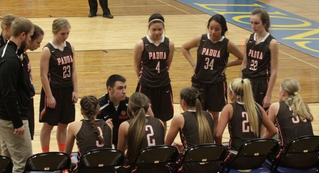 Girls Varsity Basketball beat Bedford High School 64-55
