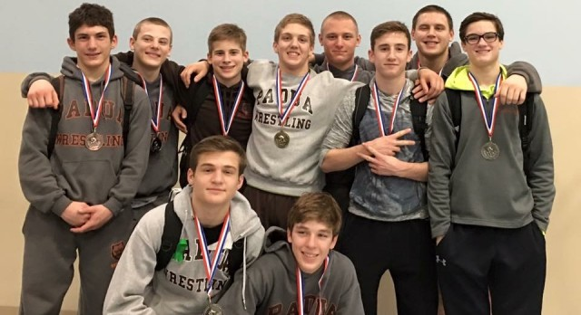 Wrestlers earn 3rd Place Finish at NCL's, Fasnacht named Tournament MVP