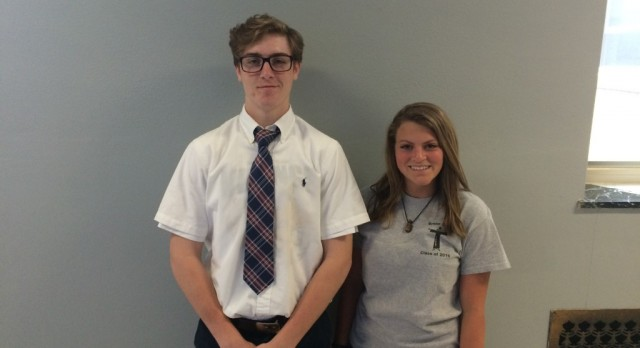 Ochocki and Starkey Chosen as Boosters Student-Athletes of the Month for March