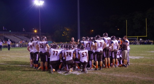 Bruins defeat Walsh 34-10, 1st time since 1983