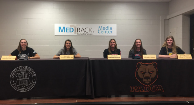 Five Lady Bruin Student-Athletes Continue Athletic Careers in College