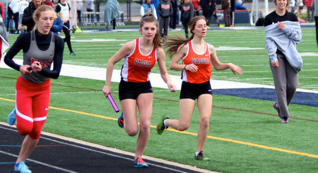 Track Teams defeat Garfield Heights on Senior Day