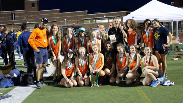 Bedford - Kimball Relays Girls Team Champs