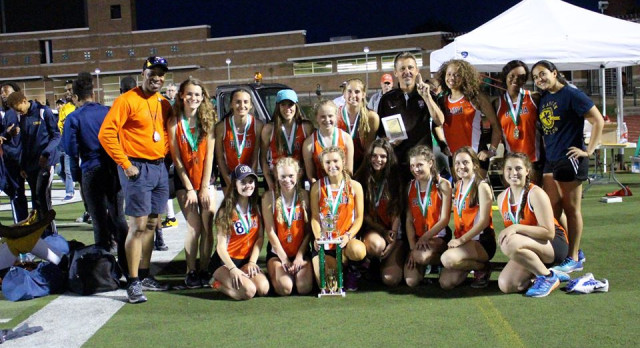 Girls Capture Kimberly Relays Title