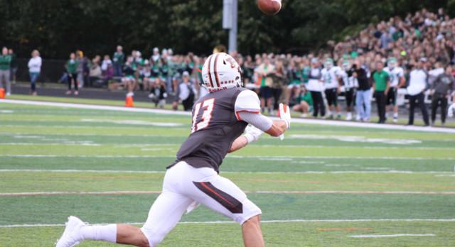Varsity Football beat Holy Name High School 38-7