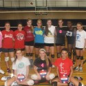 Freshman Volleyball Team 2013
