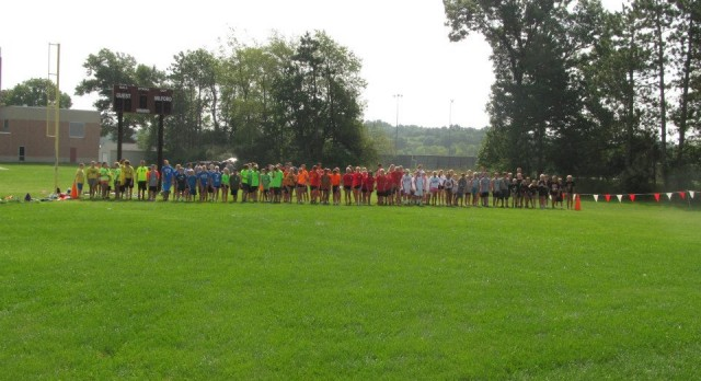 Middle School XC Camp