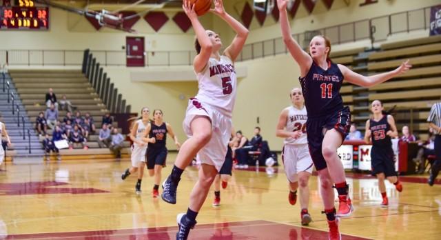 Milford High School Girls Varsity Basketball falls to Hartland High School 32-44