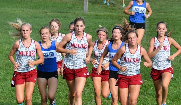 Milford Girls Top Lakeland in XC; Boys Fall to Eagles