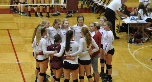 Milford Volleyball Upends Howell and Grand Blanc