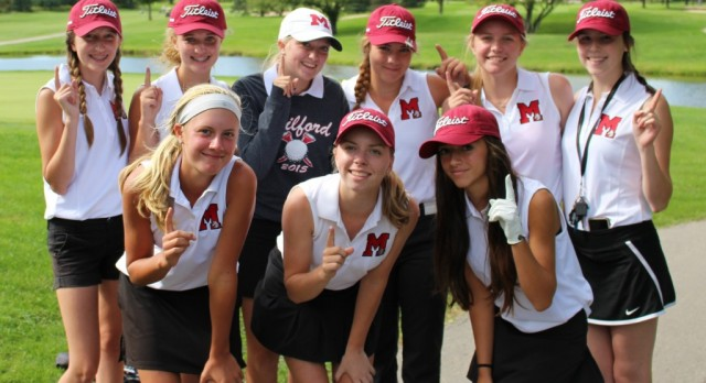 Milford Golfers Finish Third in Lakes Conference Tournament