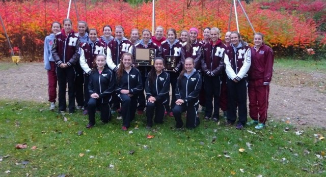 Milford Girls XC Wins Lakes Conference Title