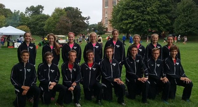 Milford Boys and Girls Cross Country Claim West Division Championships