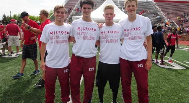 Phillips Garners Two All-State Honors; Boys 4 x 4 All -State