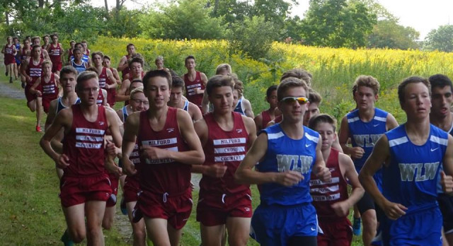 Milford Boys and Girls XC Teams Stay Perfect in LVC
