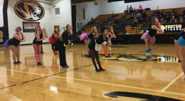 FHS Dance Team Performs Twice on Thursday