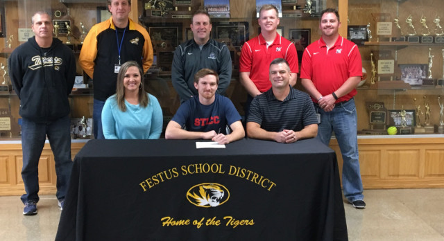 Beck Signs Letter of Intent With SLCC Baseball