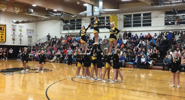 FHS Cheerleaders Have a Strong Start to Winter Season