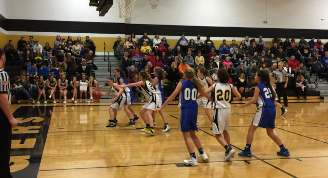 Seventh Grade Girls Basketball Crushes Hillsboro; Remains Unbeaten