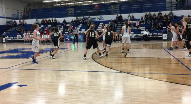 JV Girls Basketball Sets the Stage for Varsity; Beats Hillsboro 58-31