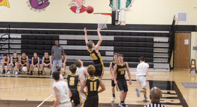 Eighth Grade Boys Basketball Remains Unbeaten With Overtime Win