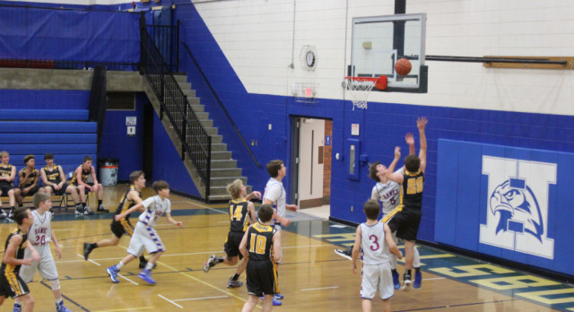 Eighth Grade Boys Keep Rolling; Still Unbeaten on the Season