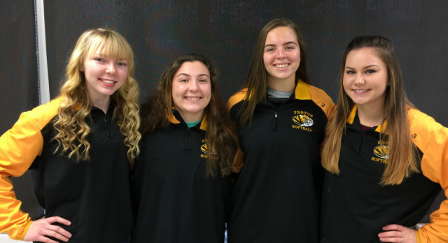 Three FHS Softball Players Recognized as Academic All-State