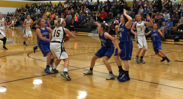 Eighth Grade Girls Basketball Team Sees Win Streak Stopped at Four