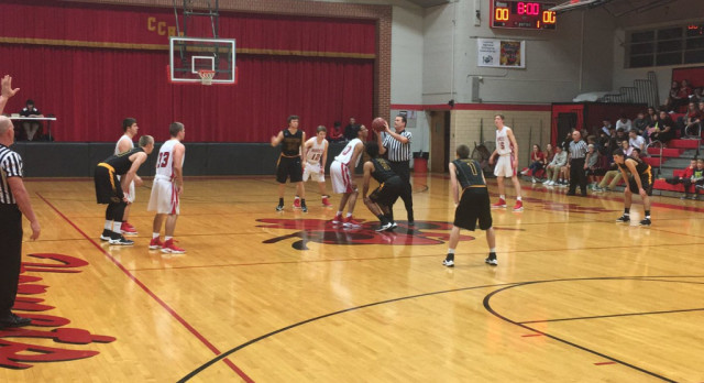 Varsity Boys Improve Hoops Record to 8-7 With Win Over Crystal City
