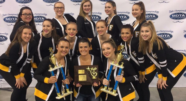 FHS Dance Team Sets Program Records at State
