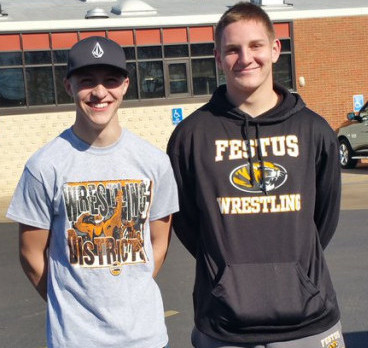 Harris & Sexton Represent FHS Wrestling at State Competition