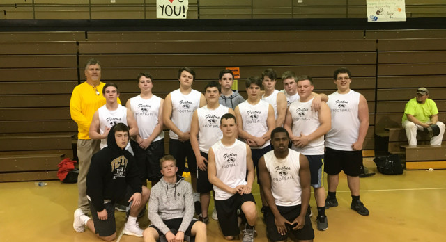 Football Players Participate in Fredericktown Weightlifting Meet