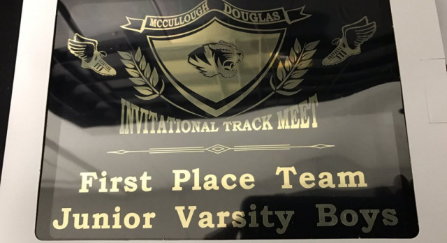 JV Boys Track Team Wins McCullough/Douglas Invitational