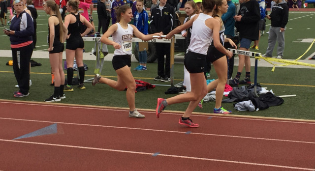 FHS Varsity Girls Track Places Eighth at Early  Bird Invitational