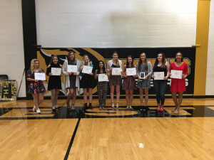 Award winners 2017 cheer
